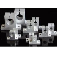 2pcs SK8-40 Rail Shaft Support Rod Holder Linear Motion Guide Slider Part
