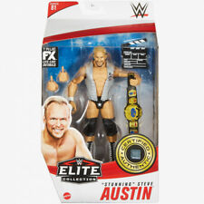 Wwe Mattel Stunning Steve Austin Elite Series #81 Figure