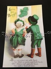 Erin Go Bragh - Ireland Forever Antique Irish Art Poster Print Poem Song AOH
