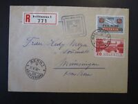 Switzerland 1938 Airmail Cover / Event Cancel - Z5005
