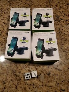 4 PACK of iOttie Easy One Touch 2 Dash Windshield Universal Mount