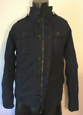Roebuck & Co Youth Men Military Style Jacket Navy Size S