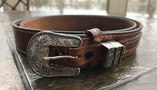 Torel, Walls Wigwam , Top Grain Cowhide Leather Western Belt ,#411 ,Size 36� Usa