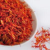 Safflower. Fresh Dried Organic Premium Quality. Herb, Supplement 100 Grams