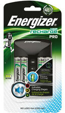 Energizer Pro AA and AAA Charger with 4 x 2000mAh AA Rechargeable Batteries