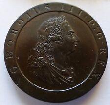 1797 GEORGE III PENNY UNC 11 leaves
