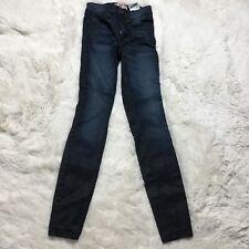 Guess 1981 Skinny Jeans Black Blue Wash Sz 24 00 Denim Stretch Slim Womens