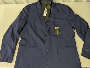 Alfani Men's Alfa Tech Sport Coat Navy Blue Size XLarge XL New w/ Tag Two Button