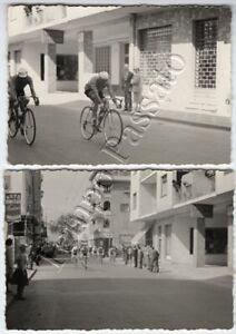 Ciclismo - Corsa Genova Nizza, passaggio a Bordighera - 1960
