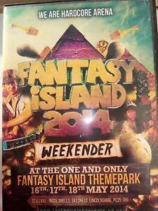 UPRISING- FANTASY ISLAND MAY 2014 WEEKENDER- WE ARE HARDCORE ARENA 6 CD PACK