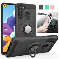 For Samsung Galaxy A21 A20 A30 Shockproof Armor Hybrid TPU Slim Phone Case Cover