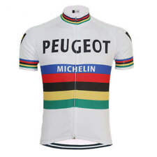 Peugeot Michelin Cycling Jersey mens Cycling Short Sleeve Jersey