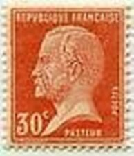 """FRANCE STAMP TIMBRE N° 173 """" TYPE PASTEUR , 30 C ROUGE """" NEUF x  TB"""