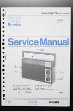 PHILIPS RADIO 90AL270 Original Service-Manual/Anleitung/Schaltplan! o34
