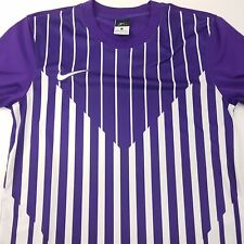 Nike Mens Dri Fit Top T Shirt Small Short Sleeve Purple Polyester