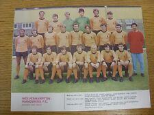 1970/1971 Football League Review: Vol 5 No 08 - Colour Picture - Wolverhampton W