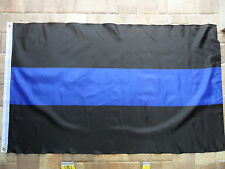 3'X5' POLICE THIN BLUE LINE FLAG