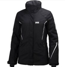 NWT Helly Hansen Women Shine Ski Jacket Black Size S