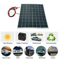 30W 12V Semi Flexible Solar Panel Device Battery Charger T3R4