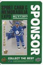 2017 Toronto Sports Card Expo Upper Deck Nazem Kadri Sponsor Pass