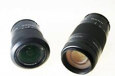 Sony Alpha 18-70mm f3.5-5.6 & Alpha 75-300mm f4.5-5.6 set S#3425514/2349272