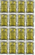 (16)Water Packets Emergency Survival Drinking Rations 4.225 FL OZ 1 Week 7 Days