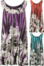 Clubwear Floral Sleeveless Tanks, Camis for Women