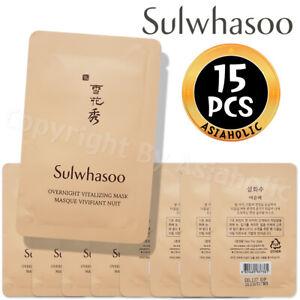 Sulwhasoo Overnight Vitalizing Mask 5ml x 15pcs (75ml) Sample Newist Version