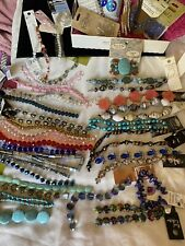 Huge Lot Beads, Swarovski Crystal, Jesse James, Semi-precious Stone, MOP, ++