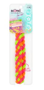 Scunci - Everyday & Active - No Slip Grip 23205-W - Neon Pink