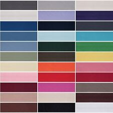 25 mm Polyester/Coton Bias Binding Hemming Craft 2.5 m ou 20 M 33 Couleurs