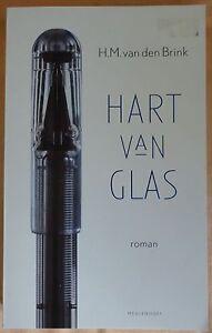 H.M. VAN DEN BRINK Hart van glas PAPERBACK literaire roman 253 blz. 1999