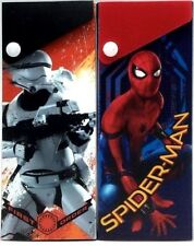 2pk Disney Spider-Man Star Wars Storm Trooper Slider Snap Pencil Case Holder Pen