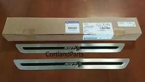 2015-2021 Dodge Charger Mopar Door Sill Guards w/SRT HELLCAT Logo 82215310AB