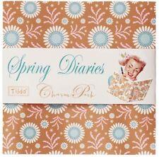 Tilda Floral 100% Cotton Craft Fabric Squares