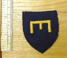 Original Military 23rd Field Unit Royal Engineers Cloth Formation Badge (4307)