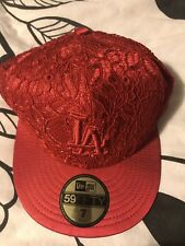 LA nba New Era Baseball Hat Lace  Size Small