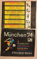 Bustina Pochette Packet Panini Coupe Du Monde Football World Cup Munchen 74