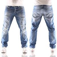 JACK & JONES Mike Page comfort fit Herren Jeans Hose BL 700 blau neu