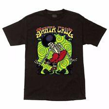 Santa Cruz Peace Ride Skateboard T Shirt Black Xxl