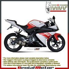 Scarico Completo MIVV Suono Acciaio inox per Yamaha Yzf R125 2008 > 2013