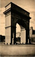 Vintage Postcard - Washington Arch Looking South New York City NY #4521