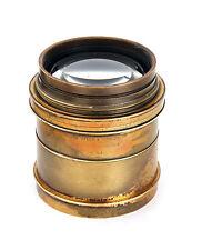 "13"" 330mm F4.5 Taylor Hobson Cooke Series II Brass Portrait Lens w/ Soft Focus"