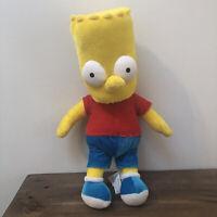 "Bart Simpson  Stuffed Plush Toy 2005 16"" The Simpsons 20th Century Fox Tag."