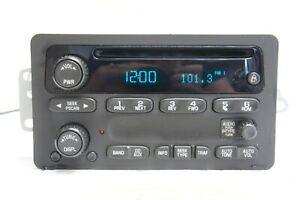 2002-2005 Chevrolet Impala Monte Carlo Radio Receiver CD Player 10335223 OEM