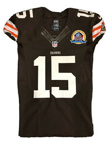 Greg Little Game Issued Jersey Cleveland Browns Michigan State *not Game Worn