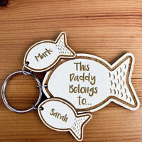 Personalised Fathers Day Gifts For Him Daddy Dad Grandad Uncle Men Keyring U26