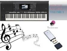 MIDI File Karaoke USB stick for PSR S750 S770 Vol 1