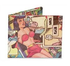 Dynomighty Comic Book strip Bifold MIGHTY WALLET made of tyvek funny pages DY405