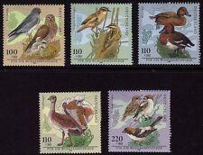 WEST GERMANY MNH STAMP SHEET DEUTSCHE BUNDESPOST BIRDS 1998 SG 2870 - 2874